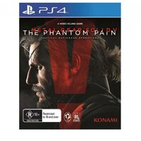 Metal Gear Solid V The Phantom Pain PlayStation 4