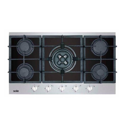 Sole-cocina-empotrable-a-gas-5-hornillas-86-cm-SOLCO039-845703