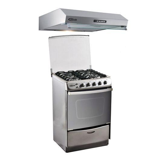 Klimatic-Cocina-Tedesca---Campana-Vento-60-Acero-894845