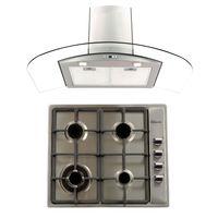 Klimatic-Cocina-Premio-Plus-4-Hornillas-Acero---Campana-Curva-P-Acero-894850
