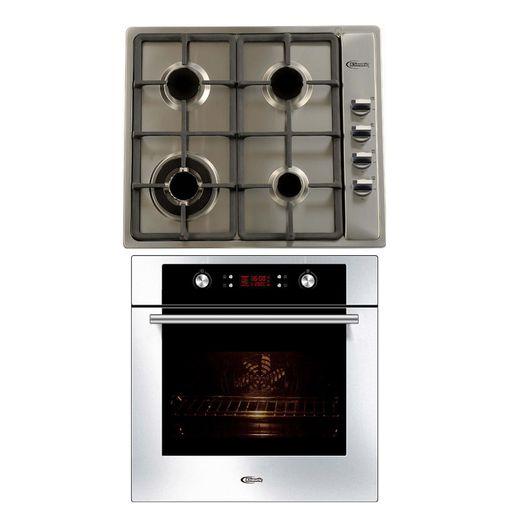 Klimatic-Cocina-Premio-Plus-4-Hornillas-Acero---Horno-Electrico-Gamma-Plateado-894851