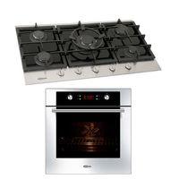 Klimatic-Cocina-Petra-5-Hornillas-Negro---Horno-Electrico-Gamma-Plateado-894859