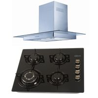 Klimatic-Cocina-Glassy-4-Hornillas-Negro---Campana-Glass-I-Plateado-894886