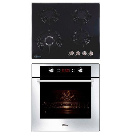 Klimatic-Cocina-Durabile-4-Hornillas-Negro---Horno-Electrico-Gamma-Plateado-894881