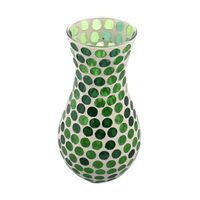 Decoracion-Silvestre-Mosaico-Vidrio-25cm-Verde-848498_2
