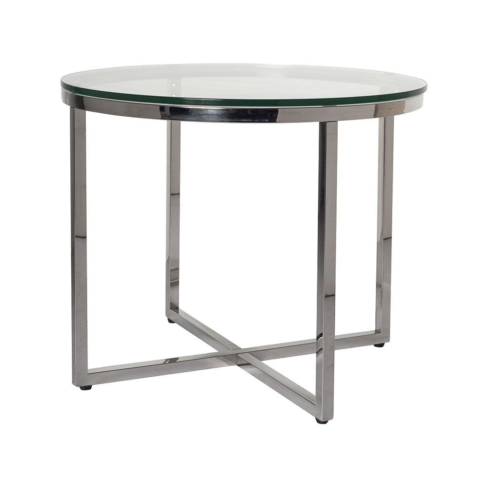 Mesa de centro vidrio mesa de centro modelo linea plana for Tablero redondo para mesa