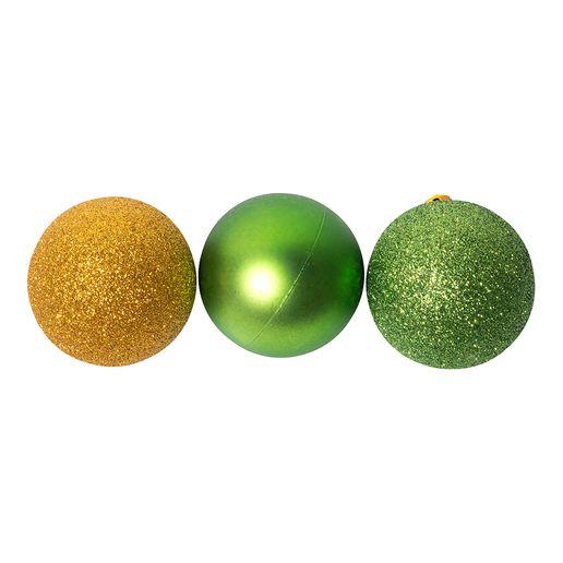 Set-de-16-Bolas-de-Navidad-6cm-Verde-Dorado-605507_1