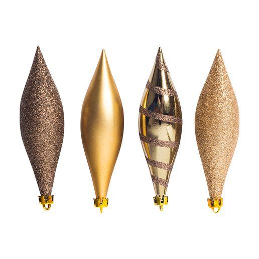Set-de-4-Adornos-Forma-de-Gota-14cm-Dorado-605520_1