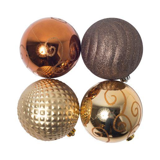 Set-de-4-Bolas-de-Navidad-15cm-Dorado-784594_1