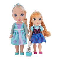 Elsa-y-Ana-con-Olaf-822485_1