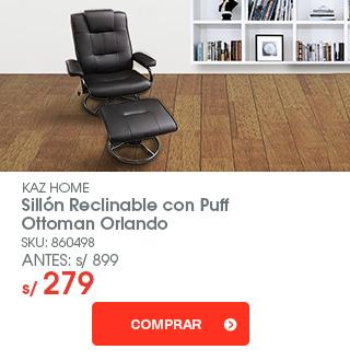 silla reclinable ottoman