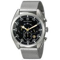 Ben-y-Sons-Reloj-10005-11-Hombre-Acero-975560