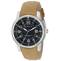 Ben-y-Sons-Reloj-10006-01-TS-Hombre-Acero-Marron-975561