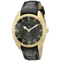 Ben-y-Sons-Reloj-10014-AN-014-Hombre-Dorado-Negro-975565