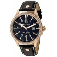 Ben-y-Sons-Reloj-10019-RG-01-Hombre-Dorado-Negro-975567