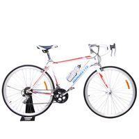 Monarette-Bicicleta-Ultra-Speed-Aro-700c-Hombre-Blanco-Rojo-750291-1