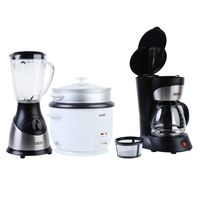 Cafetera-TH130-750ml-Negro---Licuadora-TH500V-1.6L-Plateado---Olla-Arrocera-TH36P-2.2L-Plateado-944787_1