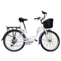Monark-Bicicleta-Brisa-24-Mujer-Blanco-Morado-973706