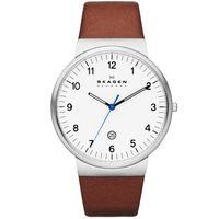 Skagen-Reloj-SKW6082-Hombre-Acero-Marron-986507