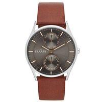 Skagen-Reloj-SKW6086-Hombre-Acero-Marron-986508