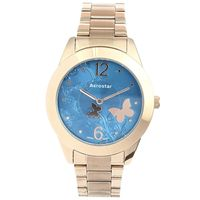 Aerostar-Reloj-66235-Mujer-Oro-Rosa