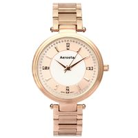 Aerostar-Reloj-66434-Mujer-Oro-rosa