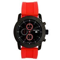 Aerostar-Reloj-25356-Hombre-Negro-Rojo