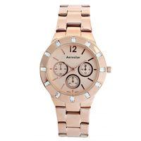 Aerostar-Reloj-65230-Mujer-Oro-Rosa