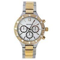 Aerostar-Reloj-65246-Mujer-Plateado-Dorado