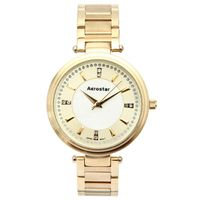 Aerostar-Reloj-66424-Mujer-Dorado