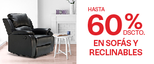 SofasReclinables