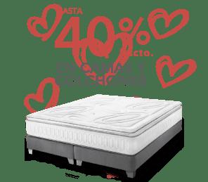 Hasta 40% de descuento Colchones y camas