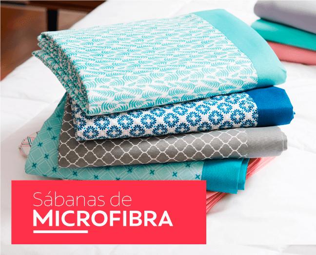 Sábanas Microfibra