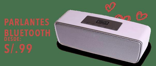 Parlante Bluetooth desde S/ 99 soles (1276682)