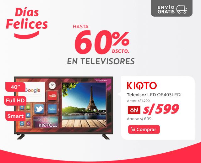 74430e203951 Kioto Full HD LED Smart TV 40   OE403LEDi