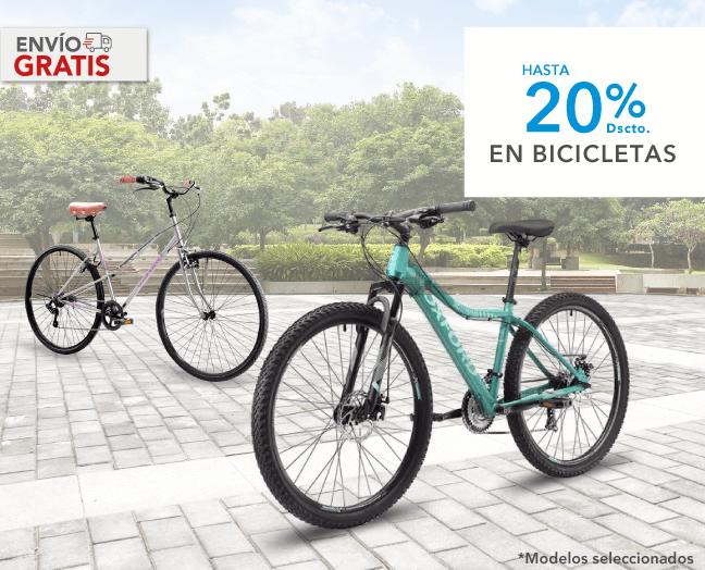 Hasta 20% de descuento Bicicletas Oxford + 10% adicional con TOH