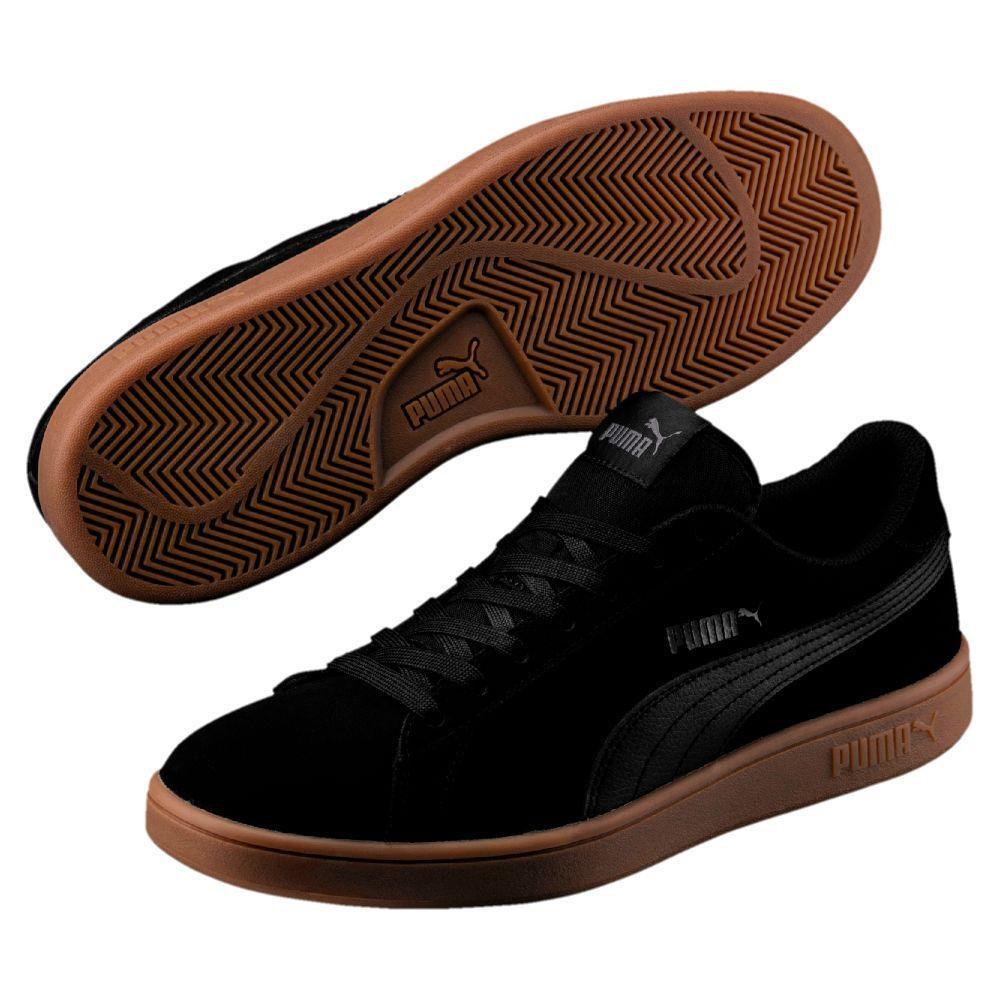 Zapatillas Urbanas Puma Hombre 364989 15 Smash v2 Negro
