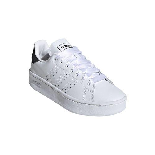 Zapatillas Urbanas Adidas Mujer Ef1034 Advantage Bold Blanco