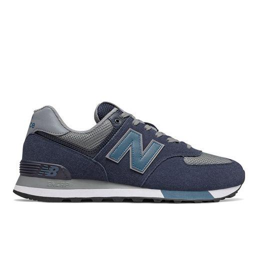 Zapatillas Urbanas New Balance Hombre ML574FND Azul