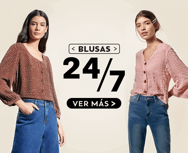 blusas 24/7 mob