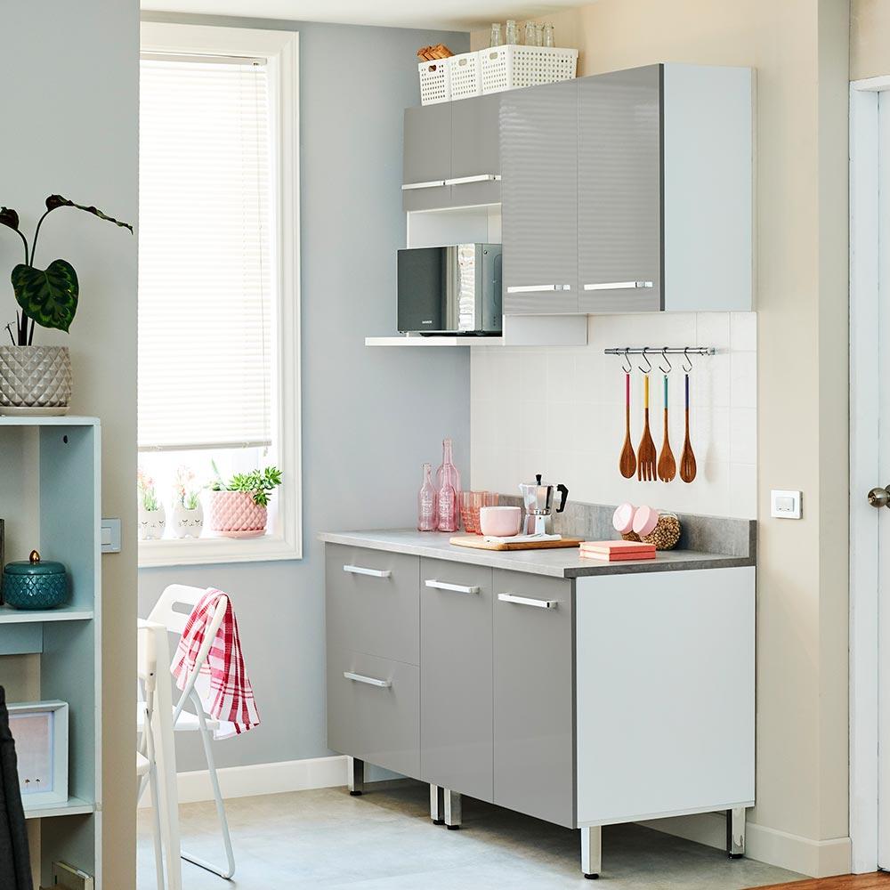COMBO Muebles de cocina modulares 1.40 metros