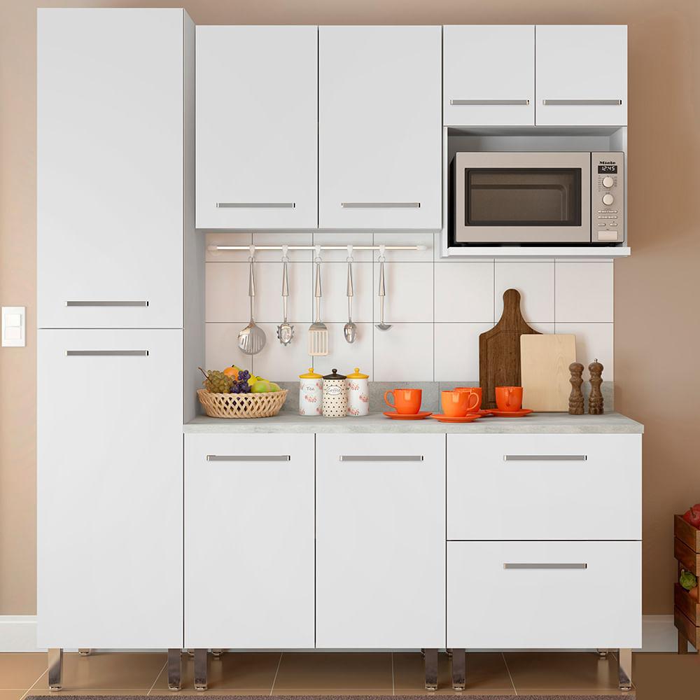 COMBO Muebles de cocina modulares 1.85 metros Blanco - Oechsle
