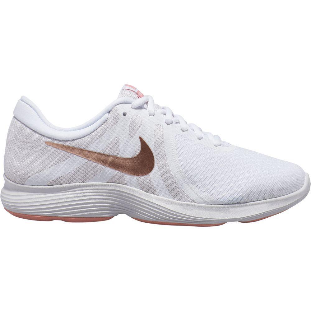 Zapatillas Deportivas Nike Mujer 908999 102 Revolution 4 Blanco