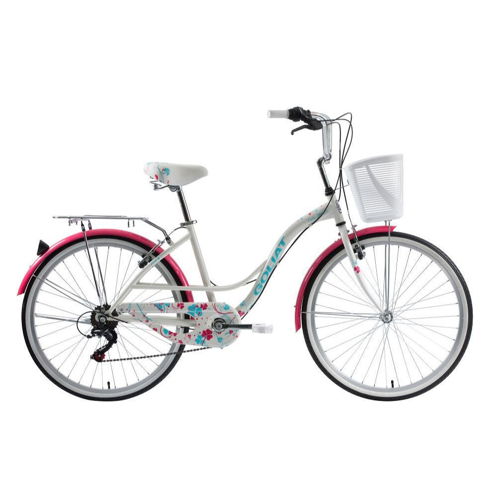 Bicicleta Mujer Cabo Blanco Blanco - aro 26