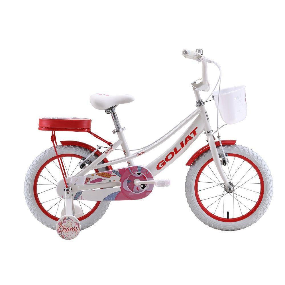 Bicicleta Infantil Niña Chami Blanco - aro 16