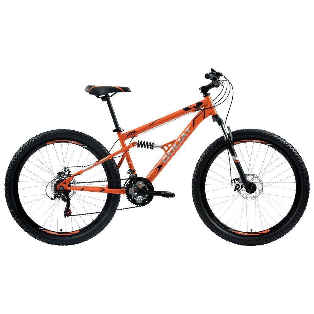 Bicicleta Hombre Sierra Naranja - aro 27