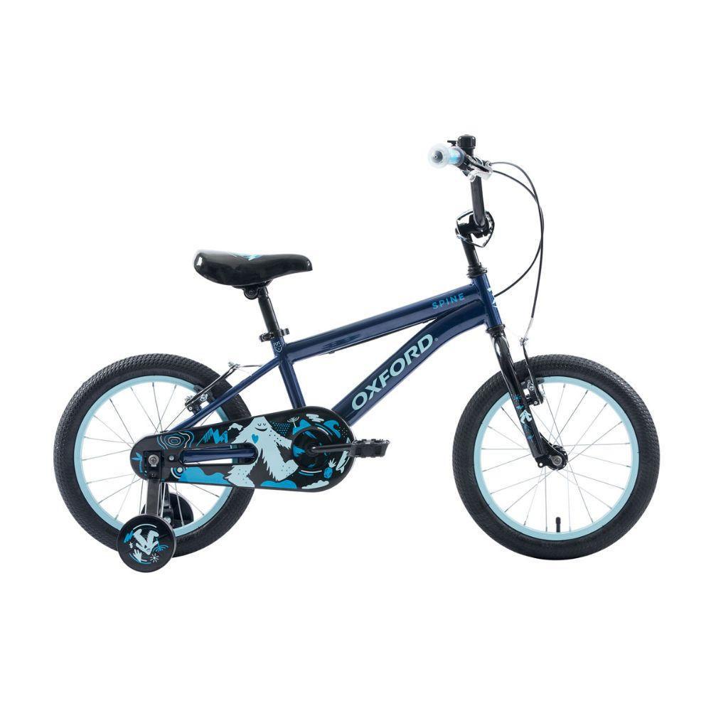 Bicicleta Infantil Niño Spine Azul - aro 16
