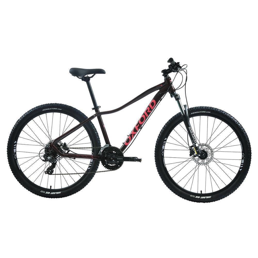 Bicicleta Mujer M Aura 5 Burdeo - aro 27.5