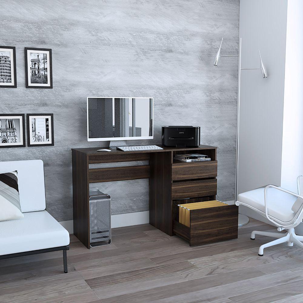 Escritorio Office 7 - Habano