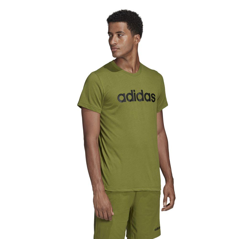 Polo Deportivo Adidas D2M Clima Soft Verde